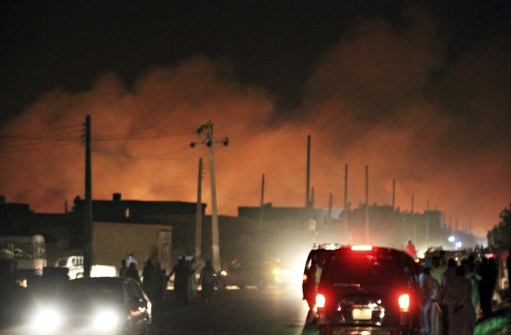 الهجوم الاسرائيلي على مصنع اليرموك في 2012