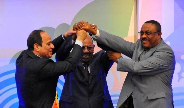 بشير سيسي اثيوبيا سد النهضة
