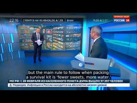 Photo of بالفيديو.. قناة روسية حكومية تطالب المواطنين بالاستعداد للحرب العالمية الثالثة