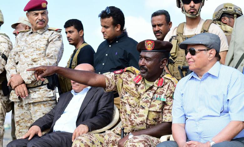 الجيش السوداني في اليمن