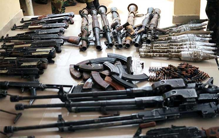 تجارة الاسلحة في السودان
