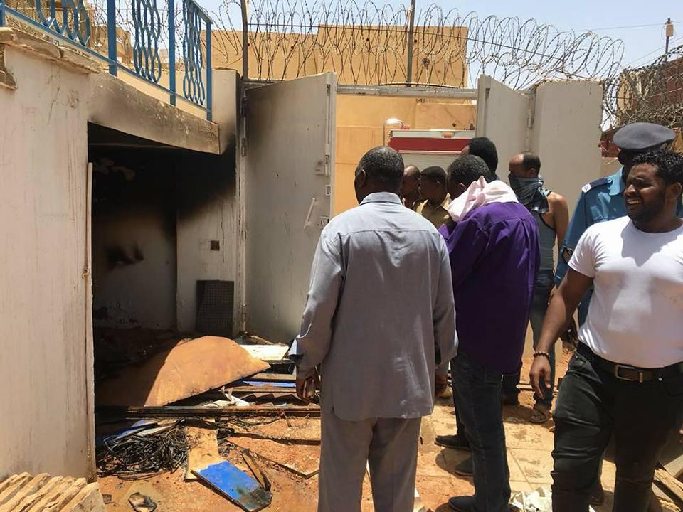 """Photo of حريق ضخم في مباني قناة """"الهلال"""" و خسائر تصل إلى ملايين الجنيهات"""