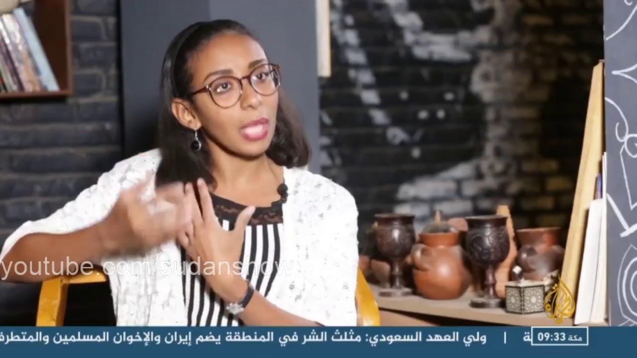 Photo of بالفيديو: صحفية وشاعرة تتحول (لست شاي ) وتلفت قناة الجزيرة القطرية بمقهى جديد