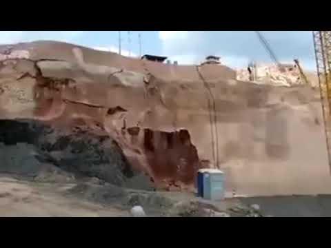 Photo of لحظة انهيار السد البرازيلي والهروب الكبير